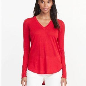 Lauren by Ralph Lauren Red Sweater